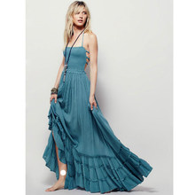 0248d30cdd14a Popular Strappy Maxi Dress-Buy Cheap Strappy Maxi Dress lots from ...