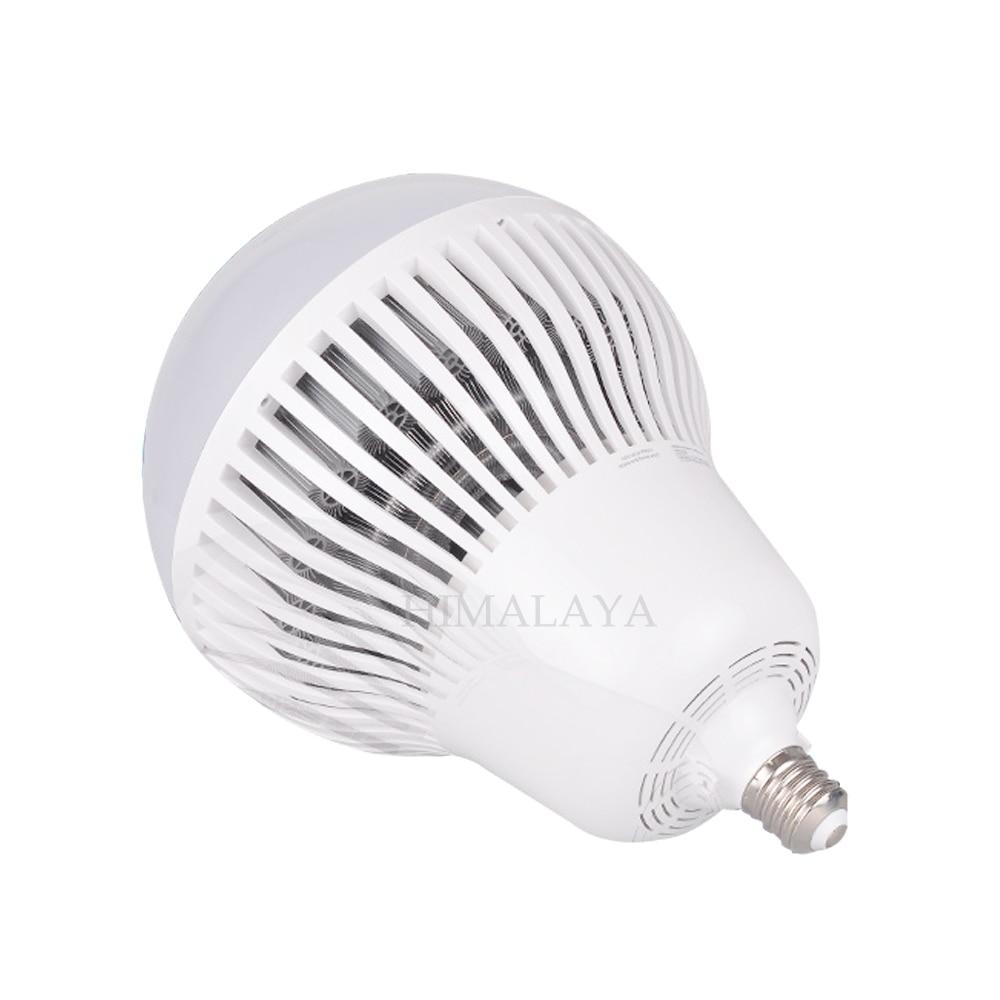 Toika 6pcs E40 80w100w120w150w Bulb High Bay Light Floodlights High Brightness For Factory/Warehouse/Workshop Industrial