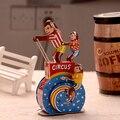 Circo Retro Monos Robot Tinwork Terminan Juguetes Juguetes de Hojalata Clásicos de La Vendimia Hecha A Mano Colección de Artesanía