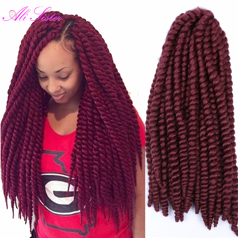 Havana mambo twist crochet braids crochet braiding hair xpression braiding hair synthetic - Crochet braids avec xpression ...