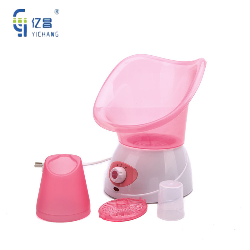 HOT SALE!! Face Steaming Device Deep Cleaning Facial Cleaner Beauty Facial Steamer Machine Facial Thermal Spray Device Sprayer deep face cleansing brush facial cleanser 2 speeds electric face wash machine
