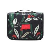 Kwiatowy Wzór Podróży Kosmetyczka Kobiety Wiszące Kosmetyczka Wielofunkcyjna Makijaż Organizator Przenośny Mężczyźni Wash Bag
