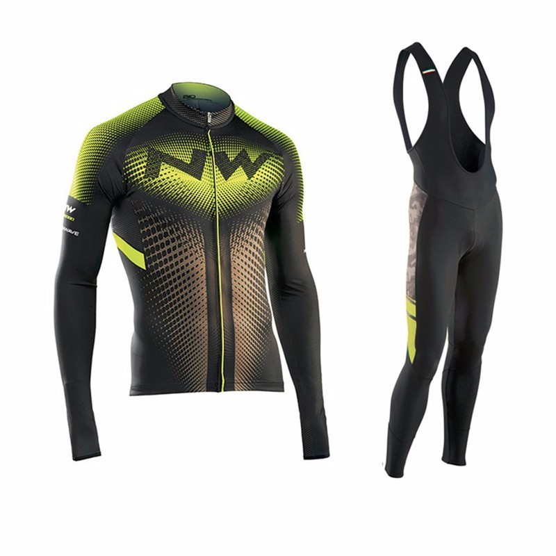 ФОТО 2017 Quick-dry Breathable Long sleeve Men's Pro Team Cycling Jersey Road Bike Clothing Mtb Bicycle Cloth Cycle Outfits Uniforms