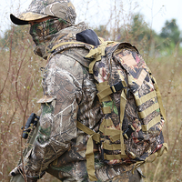 Men Bionic Hunting Bags Tactical Military Hunting Backpack Cycling Fishing Hiking Bags Camouflage Backpack Travelling Bags
