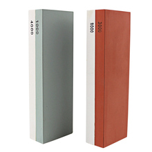 1 Satz Wasser Stein Whetstone Messerschärfer Schärfen Abflachung 3000 & 8000, 1000 & 4000 kostenloser Versand