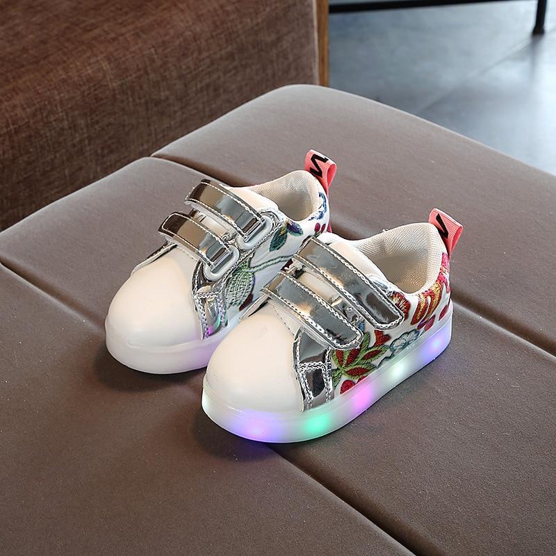 Boy & girl Led Children Shoes Luminous sneakers dla dziewcząt i - Obuwie dziecięce - Zdjęcie 2