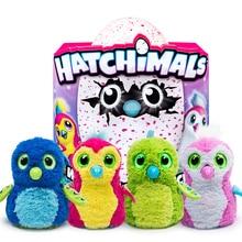 Hatchimals яйца инкубационные волшебное яйцо интерактивные инкубационных Smart электронные головоломки Pet для мальчиков и девочек волшебные игрушки