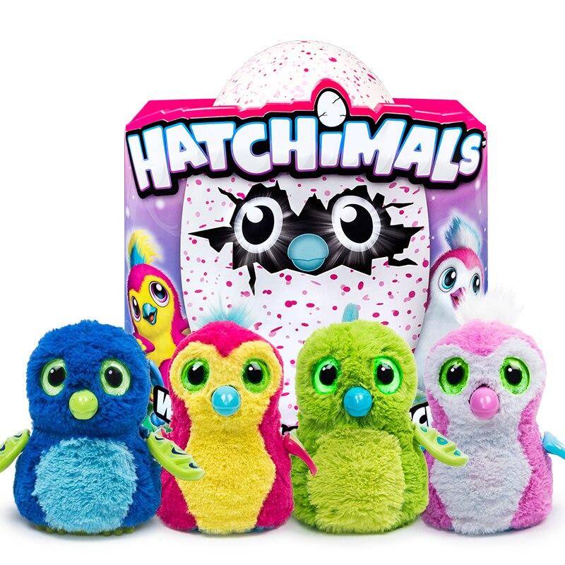 Hatchimals oeufs Éclosoir Oeuf Magique Interactif À Couver Smart Électronique Puzzle Animal Enfant Garçon Fille Jouets Magiques