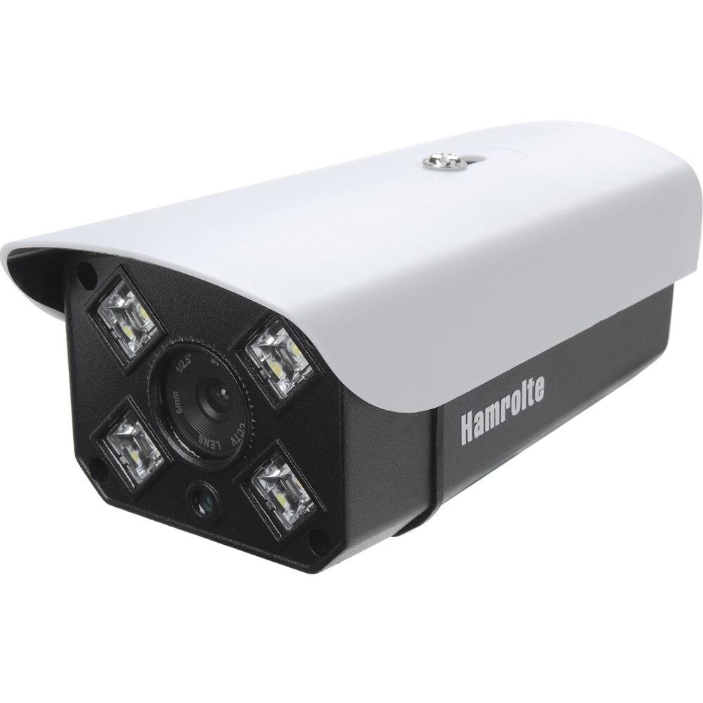 Hamrolte IP Kamera H.265 SONY IMX323 Ultra Low Beleuchtung 3MP 2MP Im Freien Wasserdichte Ip-kamera Motion Erkennung Remote Access