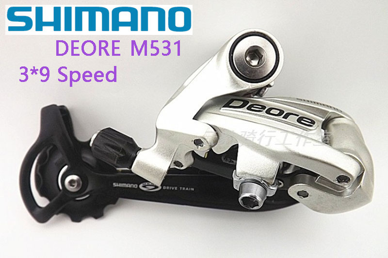 SHIMANO DEORE MTB Bicycle Bicycle Parts RD-M531 Bicycle Mountain Bike MTB 9/27 Speed Bicycle Rear Transmission Free Shipping чехол на сиденье autoprofi mtx 1105 bk rd m