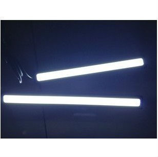 2 X 12V Super Bright White 16W COB LED DRL Driving Daytime Running - Car Lights - Photo 2