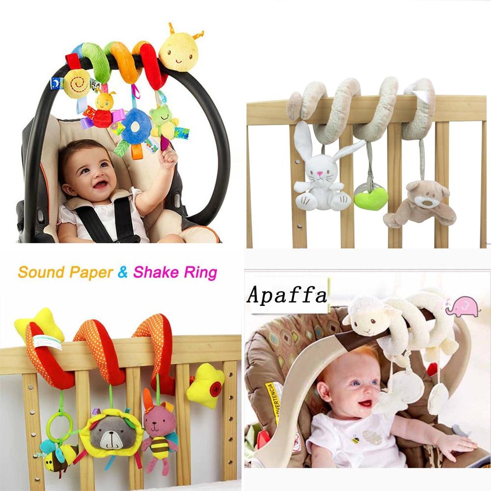 Lovely Baby Toddler Rainbow Wrist Foot Bell Rattle Pram Crib Shaker Toy  fK