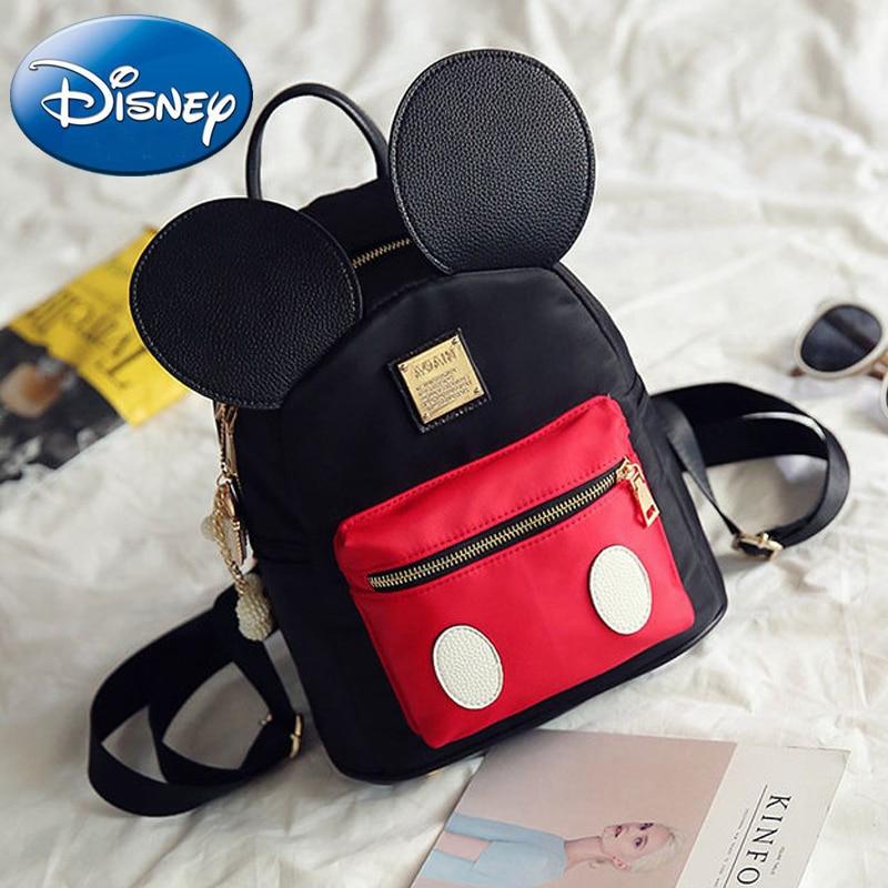 2019 New Kids Mickey Mouse Shape Girls Backpack School Bags Cartoon Children  Cute Nursery Kindergarten Fashion Student Book Bag