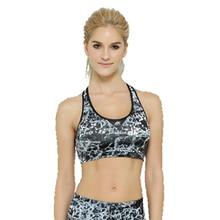 Life On Track women's fitness bras printing sports bra for sports popular partern girls  fitness exercise sleeveless tops