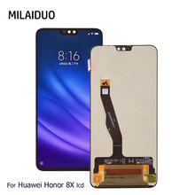 Original LCD Display For HUAWEI Honor 8X Touch Screen Digitizer No Frame Full Assembly 100% Tested 6.5 Inch