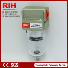 Right Pneumatic AF2000-02 Series Air Filter aluminium alloy G1/4""