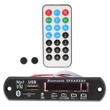 MP3 Decoder Board Bluetooth Speaker Remote Control TF Card USB MP3 WMA APE WAV FLAC Support Folder Play bluetooth mp3 decoder with bluetooth v3 0 speaker decoder board audio module support usb tf card for mobile phone music play