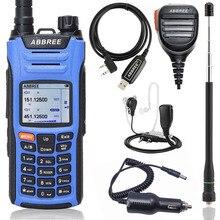 ABBREE AR F6 اسلكية تخاطب متعدد الفرقة متعددة الوظائف VHF UHF DTMF 999CH VOX DTMF SOS المسح ساعة توقيت هام اتجاهين راديو