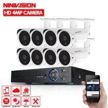 Home HD 8CH CCTV System 1080P DVR 8PCS 1080P 3000TVL IR Outdoor Video Surveillance Security Camera System 8 channel CCTV Kit