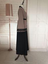Single breasted lace ruffles stitching abaya Robe Musulmane Turkish Abaya Muslim Dress Cardigan Robes Arab Worship Service Wj459