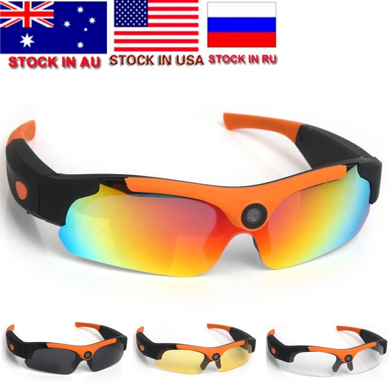 Outdoor Action 1080P HD Cycling Polarized Sunglasses Driver Eyewear DVR Video Camera Glasses 120 Degrees Photograph Eyewear все цены
