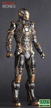 Фигурка Железный человек 3 костюм MARK - 41 BONES 1