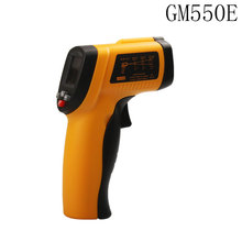 Cheaper BENETECH GM550E Digital non-contact IR infrared thermometer Laser SensorTemperature Meter 50~550C adjustable 0.95 pyrometer