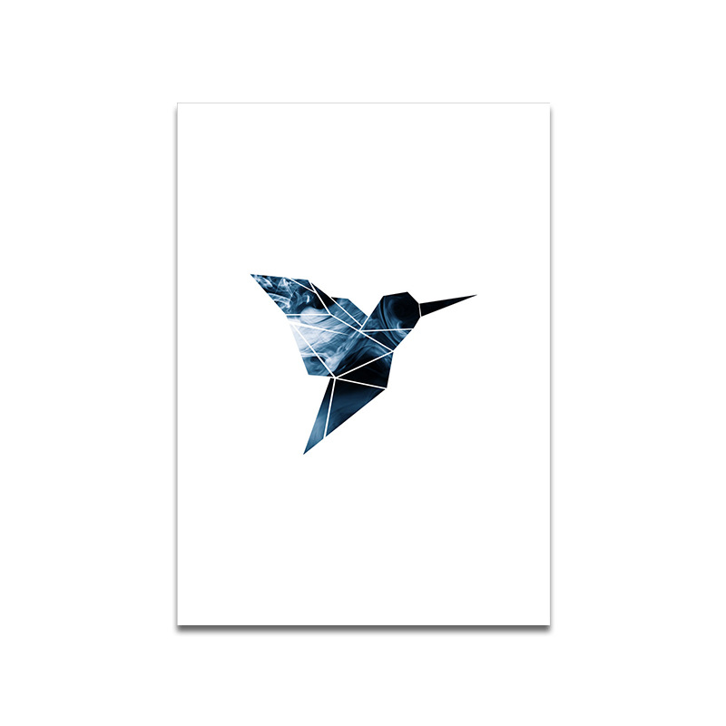 Nordic Style Wall Art Canvas Painting Poster Abstract Print Geometry Bird Plant Decorative Picture for Living Room Home Decor in Painting Calligraphy from Home Garden