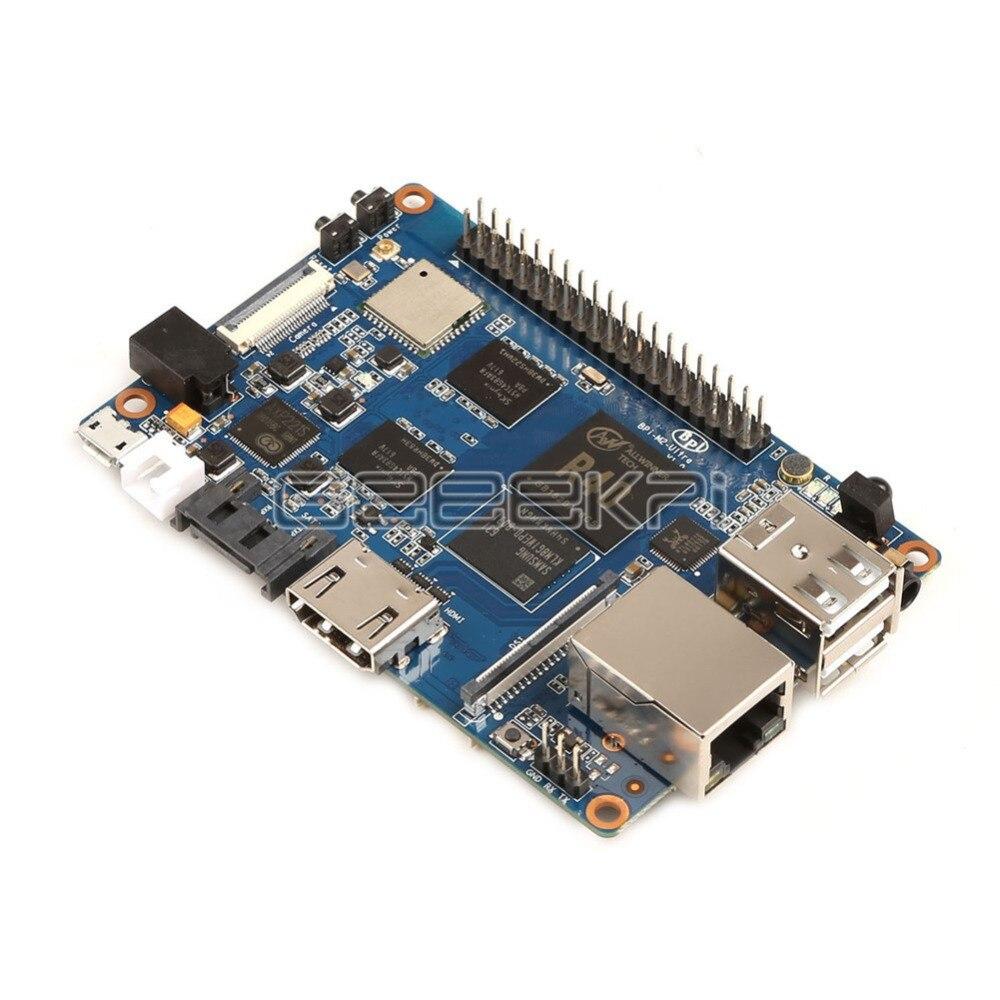 Banana Pi M2u Bpi-m2u Bpi-m2 Ultra R40 Quad-core 2 Gb Ram Mit Sata Wifi Bluetooth 8 Gb Emmc Demo Single Board Und 1pcs3db Antenne
