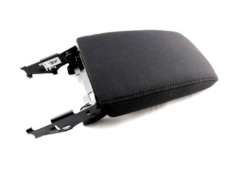 Armrest Console Top Cover (Black Cloth) for Golf MK6