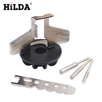 HILDA Chainsaw Sharpening Attachment Sharpener Guide Drill Adapter Power Tool Accessories For Dremel Drill Rotary Accessories