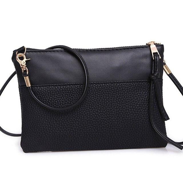FEITONG Mode féminine à main en cuir bandoulière épaule Messenger Bag  (Marron) 4aee8387cfe