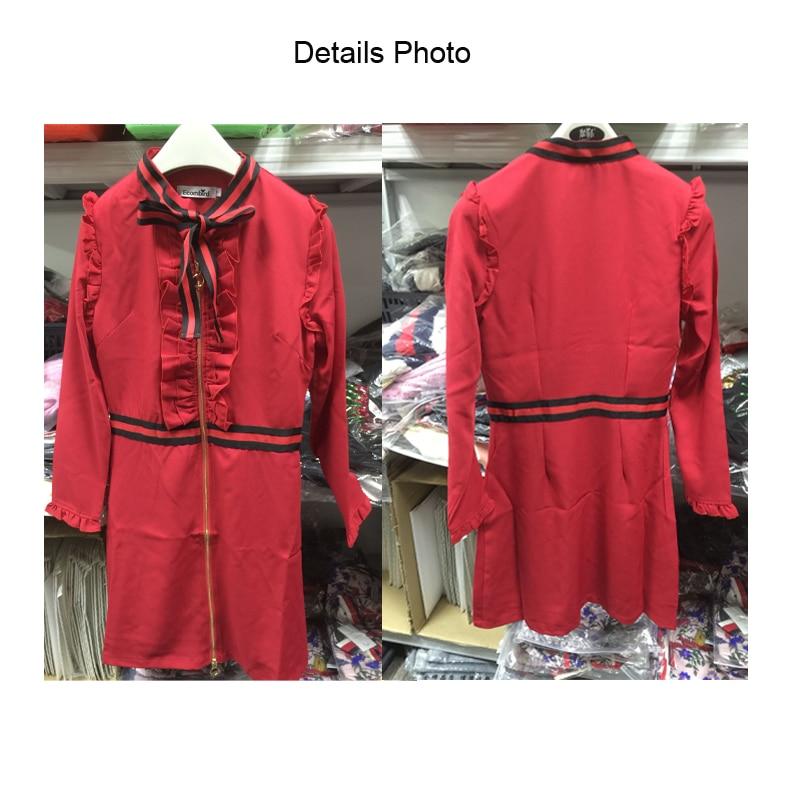 Ecombird Σέξυ φόρεμα με φόρεμα με κόκκινο - Γυναικείος ρουχισμός - Φωτογραφία 6