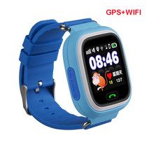 GPS Q90 Smartwatch Touch Screen WIFI Positioning Children Smart Wrist Watch Locator Anti-lost Watches SOS Call Location Tracker(China)