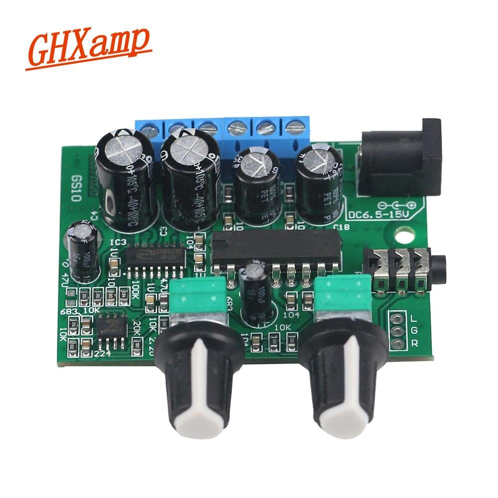 Ghxamp 2.1 Subwoofer Amplifier Audio board 6W*2+25W Mini Bass Amplifier HIFI YD1517P For 4-6 Inch 40W SubWoofer Speaker