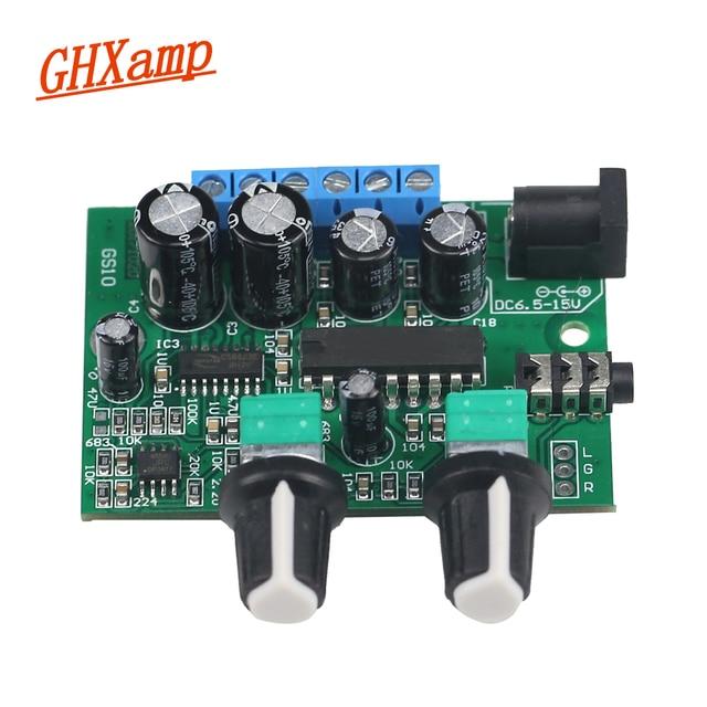 Ghxamp 2.1 Wzmacniacz subwoofera płyta Audio 6 W * 2 + 25 W Mini gitara basowa wzmacniacz HIFI YD1517P dla 4  6 Cal 40 W głośnik subwoofer