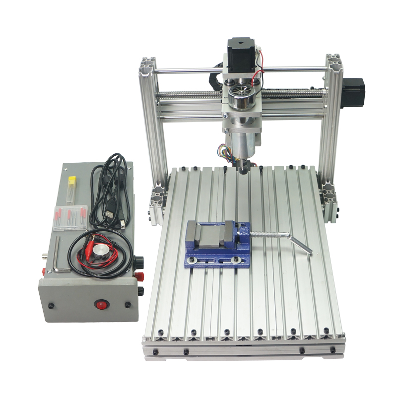 4th 5th axis CNC Wood Router DIY 3040 CNC Frame Kit for Wood carving diy mini cnc wood router machine frame 3040 engrave frame suitable cnc milling machine 3040z dq