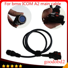 For BMW ICOM A2 Interface OBD Main Cable 16pin to 19pin  diagnostic tool car cable ICOM A2+B+C Coding Diagnostic Cable