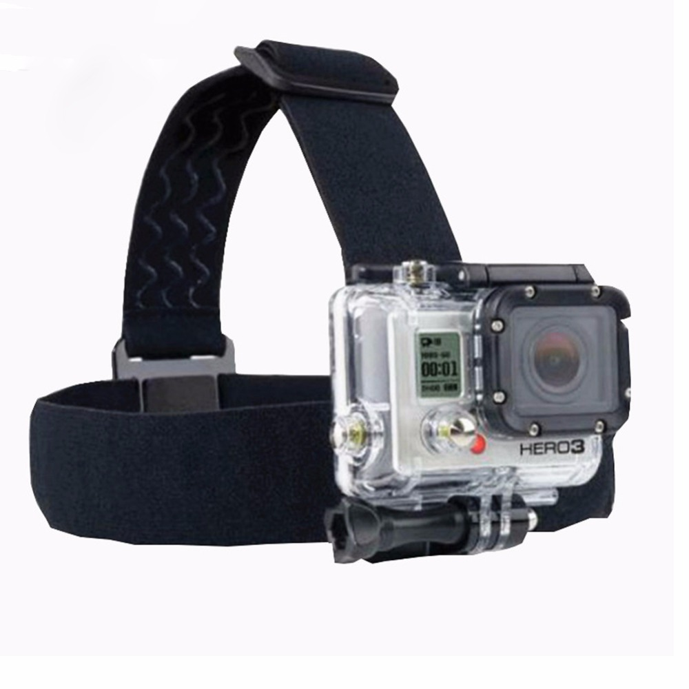 Head Strap for SJCAM 4000+ for GoPro three Way stick
