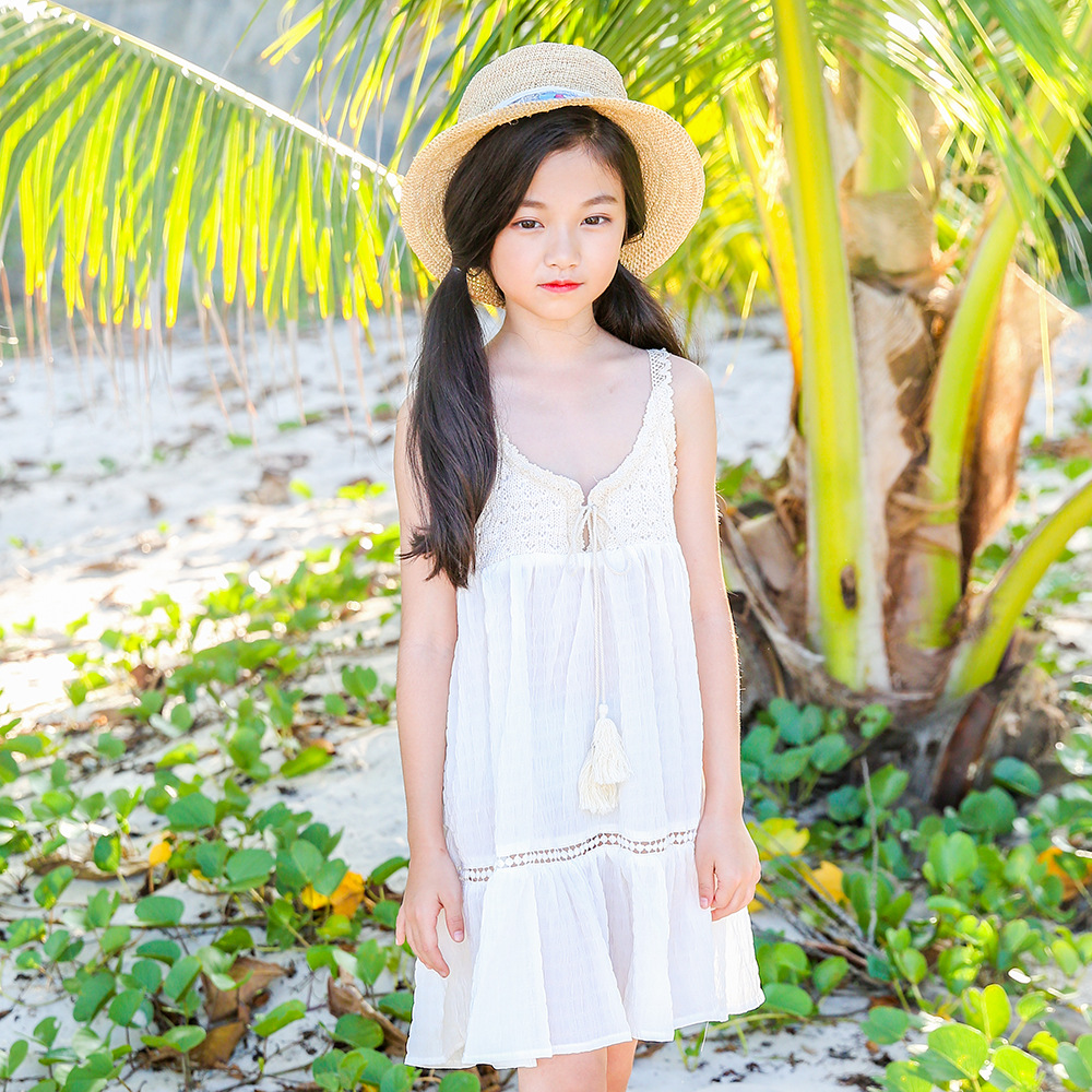 children lace patchwork dresses girls 2018 summer princess baby girls party dresses for kids sleeveless teenagers dress clothing summer 2017 new girl dress baby princess dresses flower girls dresses for party and wedding kids children clothing 4 6 8 10 year