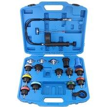 18 шт./компл. измеритель давления в радиаторе набор инструментов система охлаждения инструмент тестирования резервуар для воды автомобильный детектор утечки для Audi BMW ford volvo