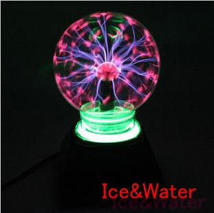 Very Beauty 4inch Plasma Light Magic Lighting Christmas Party Decorative Magic Ball Plasma Static Ball Kid Toy Household Item