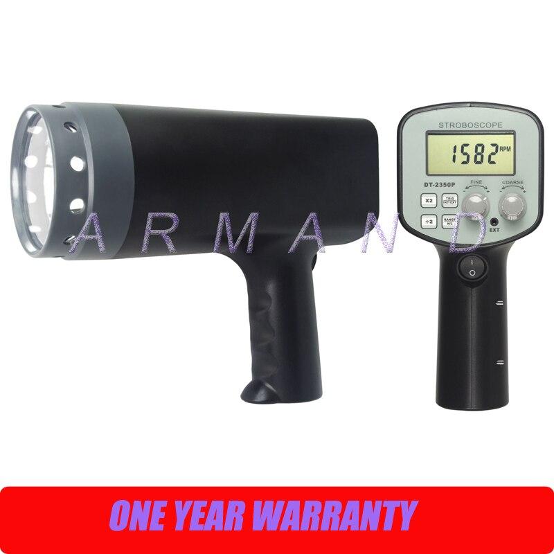 Stroboscope numérique portatif adapté à l'impression et au DT-2350PE Textile tachymètre sans contact 50-2000 FPM