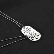 """2pcs """"THE LOVE BETWEEN US WILL BE FOREVER AND EVER"""" Letters Carving Pendant Necklaces Special Nice Gift Lovers Couples"""