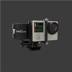 Feiyu Tech WG Lite Single Axis Wearable Camera Gimbal for Gopro 3 3+ 4 feiyu tech wg lite wearable single axis gimbal stabilizer for gopro hero 4 3 3 and other cameras with similar dimensions