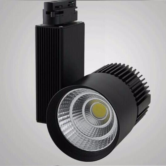 CE RoHS Saving Energy COB Led Track Rail Light 30W Spot Wall Lamp - Pencahayaan LED - Foto 3