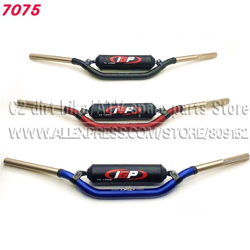 7075 Алюминиевый Caken T7 высококачественный руль для мотоцикла 1-1/8