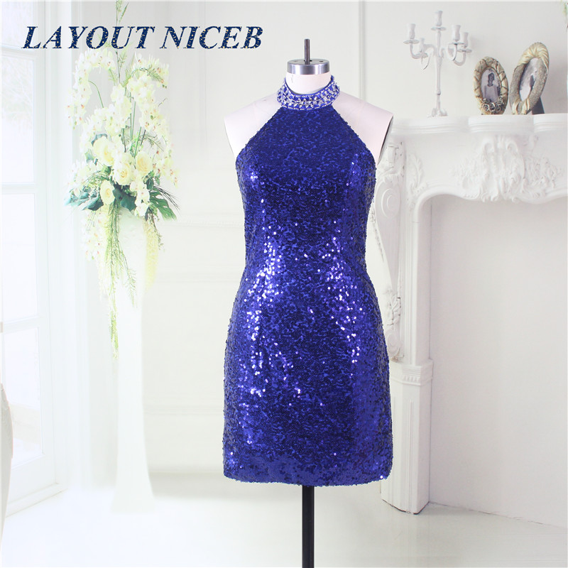 Bling Royal Blue Prom Dress 2019 Detachable Skirt Evening Gowns Party Dress vestidos de fiesta de noche largos elegantes de gala in Prom Dresses from Weddings Events