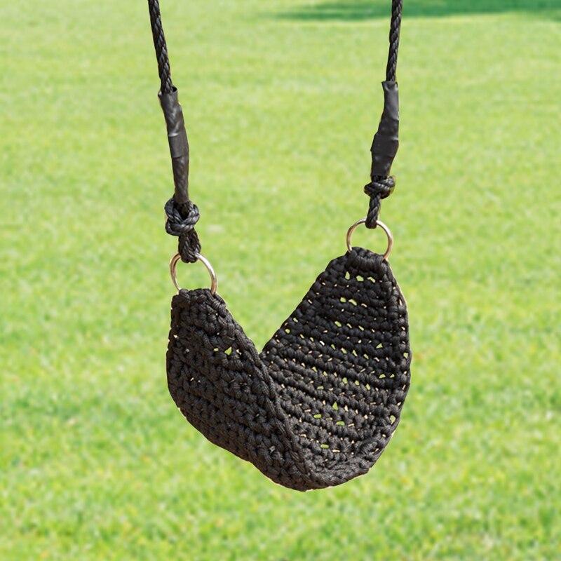 Enfant extérieur/intérieur jardin balançoires pour enfants main-kitting balançoires siège avec cordes réglables jouets hamac chaise bébé cadeaux