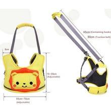 Mambobaby New Cartoon Baby Walker Toddler Leash Backpack Mochila Infantil Menino Child Harness Backpack Kawaii Safety Baby Belt